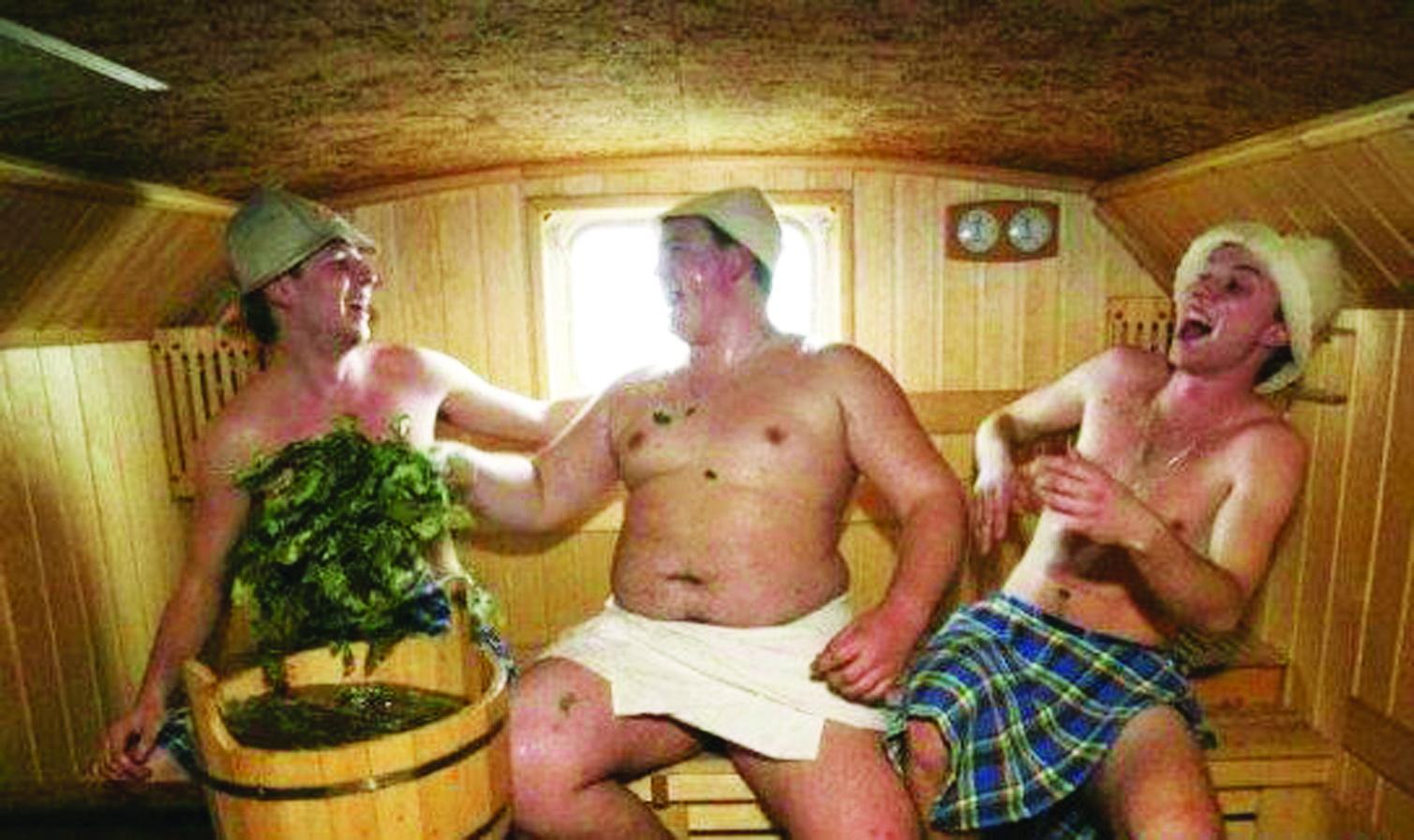 Фотографии в мужской бани 10 фотография